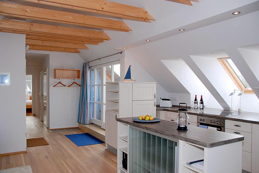 Hängele Küche ferienwohnung kranichland home